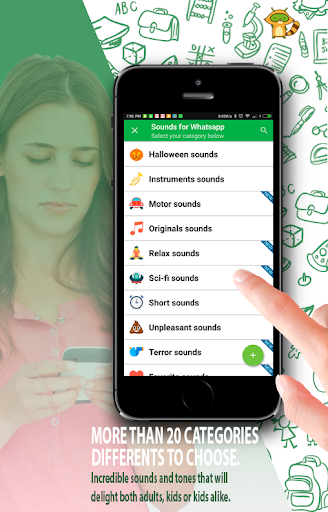 Sounds for Whatsapp - The Best Ringtones 2.0.2.0 screenshots 2