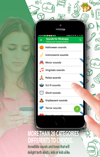 Sounds for Whatsapp - The Best Ringtones