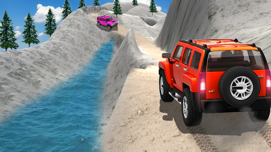 Offroad Prado Driving Mania: Jeep Wrangler (Unrele - náhled