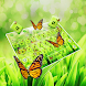 Green Nature Butterflies  Keyboard