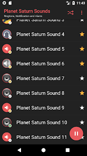 Appp.io - Planet Saturn sounds - náhled