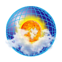 NOAA radar with weather alerts - eMap HDF icon