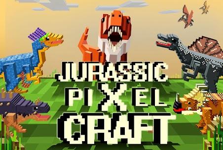 Jurassic Pixel Craft: dino age 6