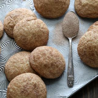 Apple Butter Snickerdoodle Cookies.