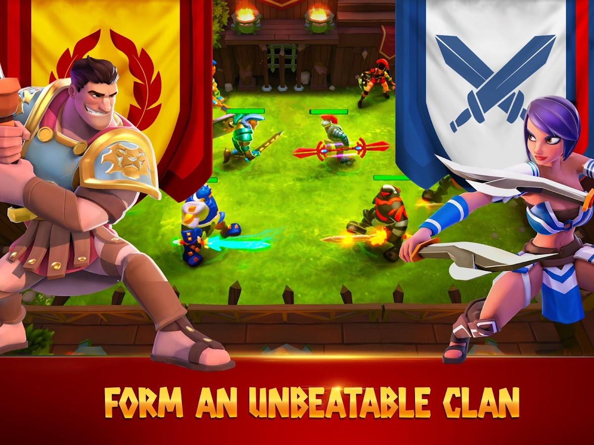Gladiator Heroes: Clan War Games- screenshot
