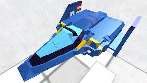 青いハヤブサ(セルフタイヤver)