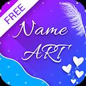 Name Art - Focus Filter - Name Card Maker icon