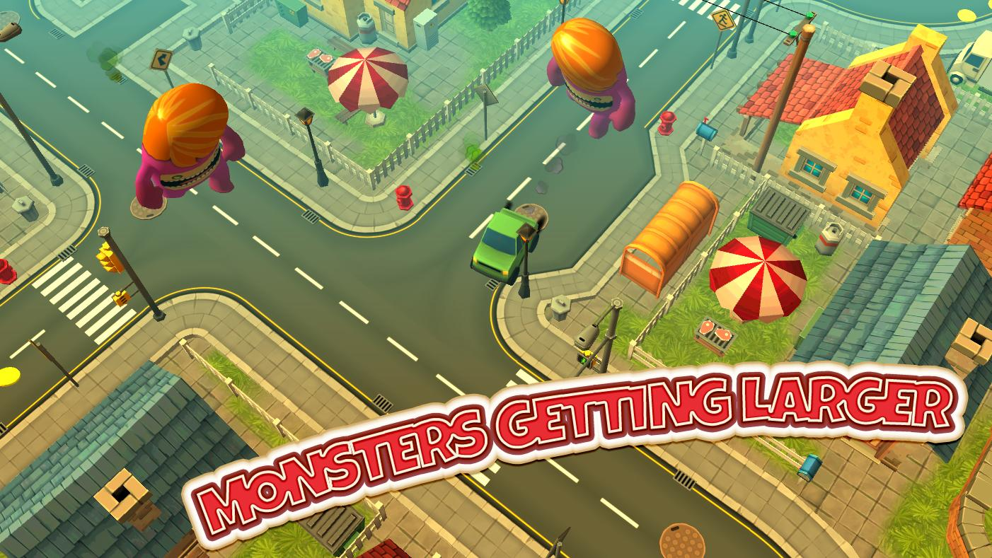 Monsters Rush- screenshot