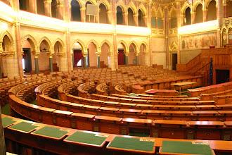 Photo: Budapeszt - sala obrad w parlamencie