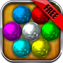 Magnetic Balls HD Free: Match 3 Physics Puzzle icon