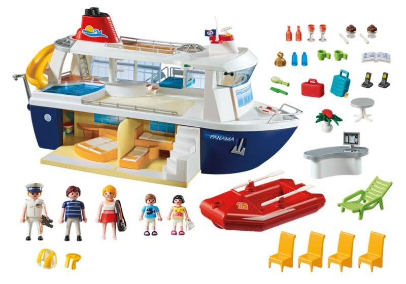 Contenido real de Playmobil® 6978 Barco Crucero