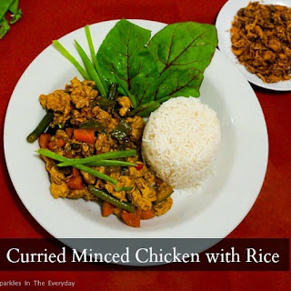 Recipe for Curried Minced Chicken and Rice