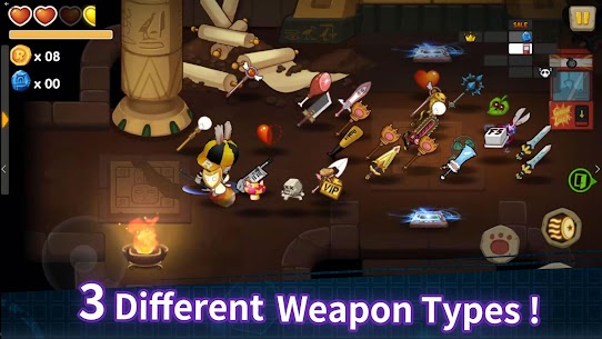 The Arcade Rabbit (MOD, Unlimited Bombs) 3