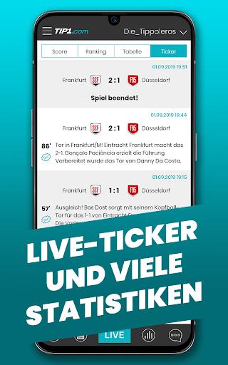 TIP1.com Tippspiel-App  screenshots 4