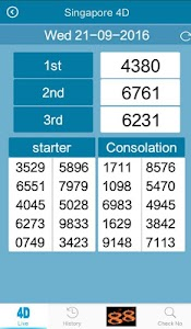 4D,Toto Results @6.33 (Sg &My) screenshot 2