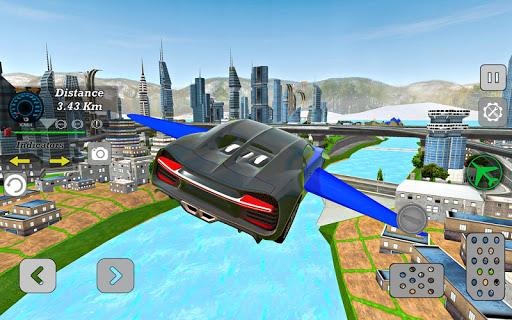 Modern Sports Flying SUV : Driving Simulator ss3