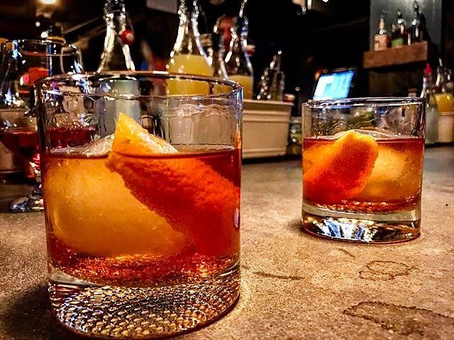 The classic Old Fashioned. Photo: The Blind Donkey Long Beach.