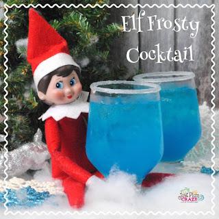 Elf Frosty Cocktail.
