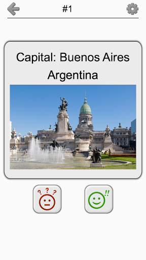 Capital Cities of World Continents: Geography Quiz 1.2 screenshots 4