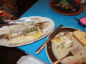 Photo: Sea Bass - the best meal we had!