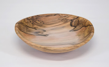 "Photo: Jeff Tate 1 1/4"" x 6"" bowl [dogwood]"