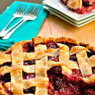 Mixed Berry Pie.