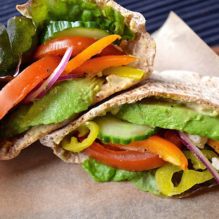 Toasted Vegetable Pita.