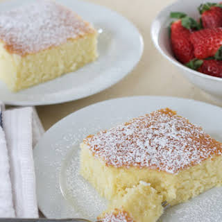 Old Fashion Hot Milk Cake.