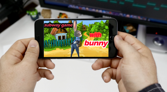 subway game craft with crizy bunny - náhled