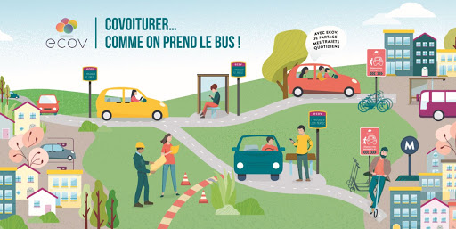 Ecov, covoiturer comme on prend le bus