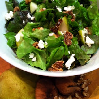 Fig and Pear Salad.
