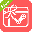 Free Steam Gift Cards & Amazon v 2.6.3 app icon