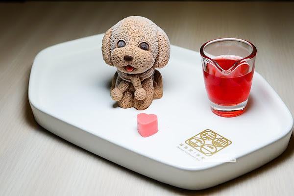 採雪堂冰物-可愛破表的巧克力慕斯狗狗,行天宮雪花冰冰品