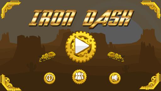 iRon Dash - Infinity Robot Run