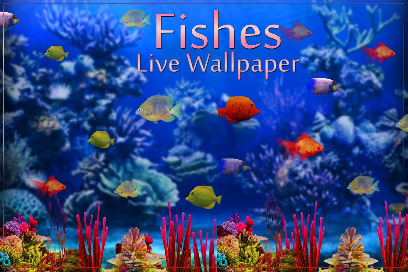 Moving Fish Wallpapers Fishes Live Wal...