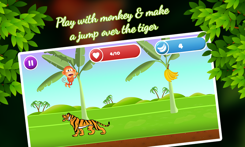 MON-JI: Adventure Monkey Jump- screenshot