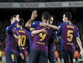 Barcelone s'est imposé 2-0 contre l'Atlético