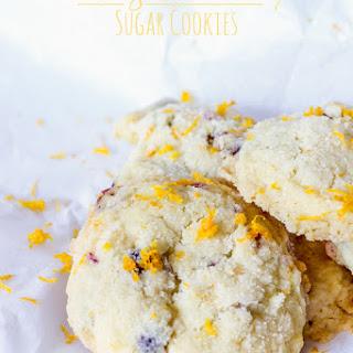 Orange Cranberry Sugar Cookies {Gluten & Dairy Free}.