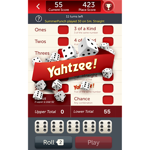 YAHTZEE® With Buddies: A Fun Dice Game for Friends screenshot 1