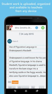 Seesaw: The Learning Journal – Vignette de la capture d'écran