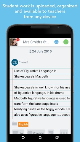 android Seesaw: The Learning Journal Screenshot 12