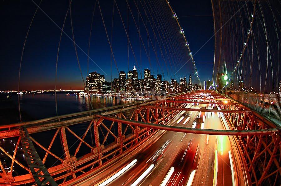 Brooklyn bridge...NY by Benoit Beauchamp - Landscapes Travel