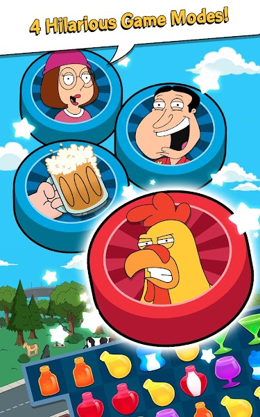 Family Guy Freakin Mobile Game- screenshot