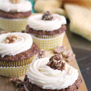 PARSNIP-GINGER CUPCAKES with BROWNED BUTTER CREAM CHEESE FROSTING Recipe
