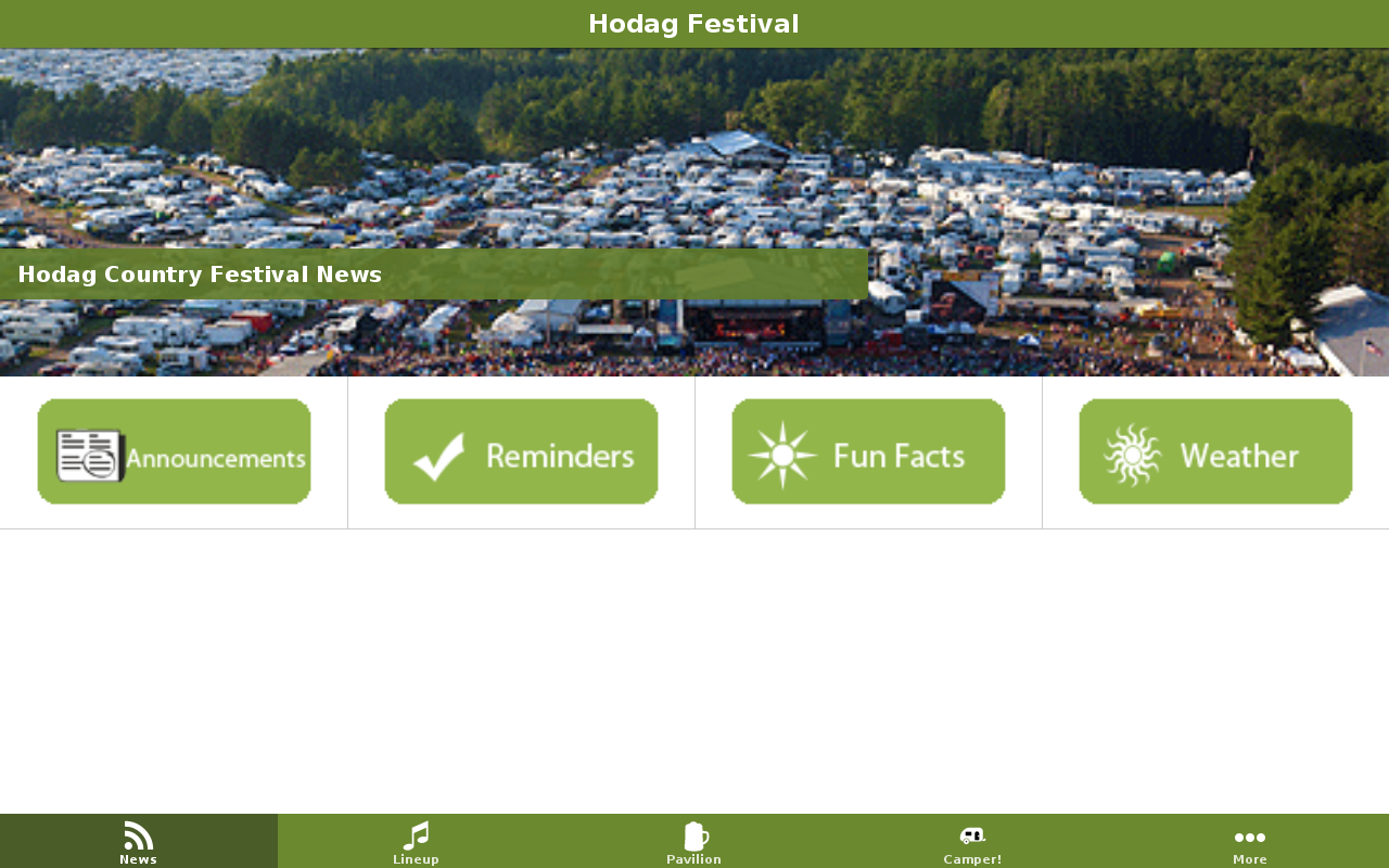 Hodag Country Festival- screenshot