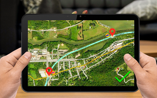 GPS Navigation & Map Direction - Route Finder ss3