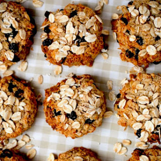 Banana + Oatmeal Cookies