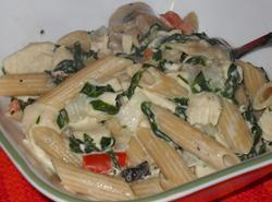 Creamy Chicken & Pasta Recipe