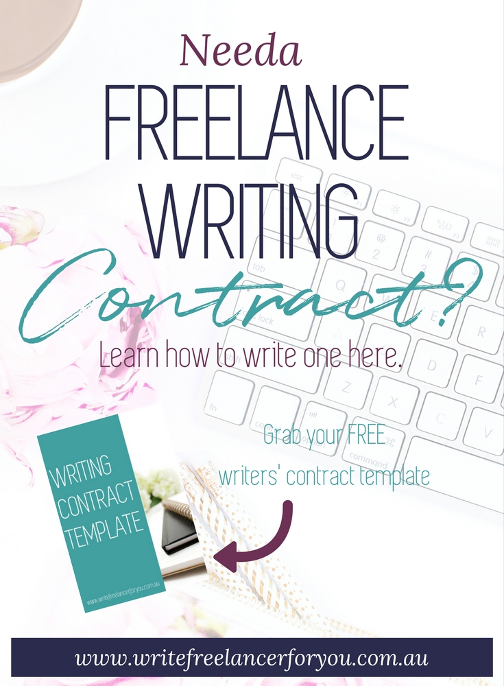 writing contract template, contract, freelancer contract