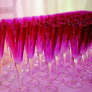 Paris's Crimson Champagne Cocktail